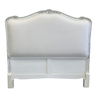 Carved French Style Headboard For Sale