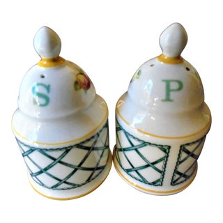 Villery & Boch Salt & Pepper Shakers - a Pair For Sale
