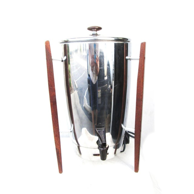 Regal Stainless Steel Electric Modern Coffee Pot - Image 1 of 4