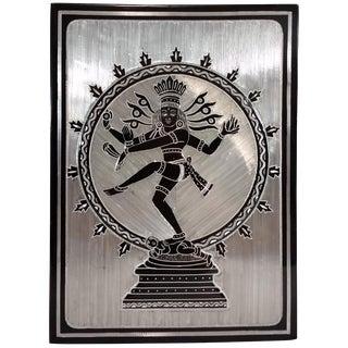 Indonesian Dancing Shiva Metal Work