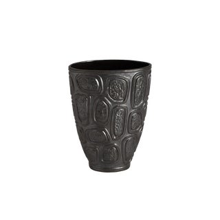 Jonathan Adler Windowpane Brutalist Vase For Sale