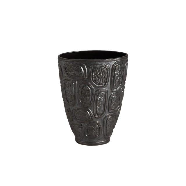Jonathan Adler Windowpane Brutalist Vase For Sale
