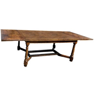 Spanish Farmhouse Parqueted Banquet Table