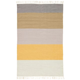 Jaipur Living Swane Indoor/ Outdoor Stripe Area Rug - 5′ × 8′ For Sale