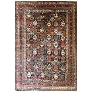 Antique Persian Bakhtiar Carpet For Sale