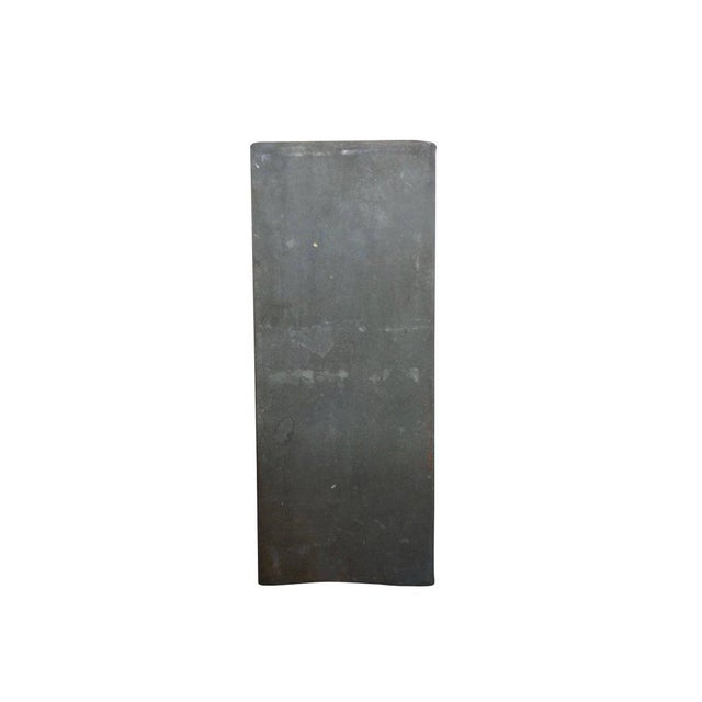 Early 20th Century 1920s Zinc Geometric Forms - Set of Four For Sale - Image 5 of 10