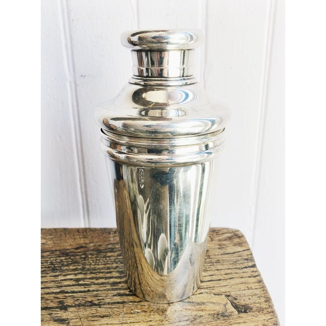 Tiffany and Co. Antique Tiffany and Co Sterling Cocktail Shaker For Sale - Image 4 of 12