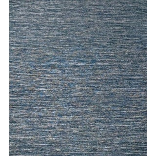 Blue Linear Textured Wallcovering For Sale