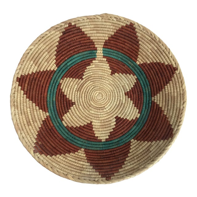Woven Native American Style Wedding Basket For Sale