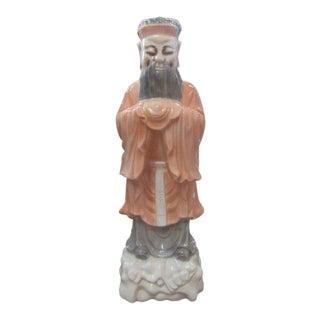 Ceramic Confucius Lamp For Sale