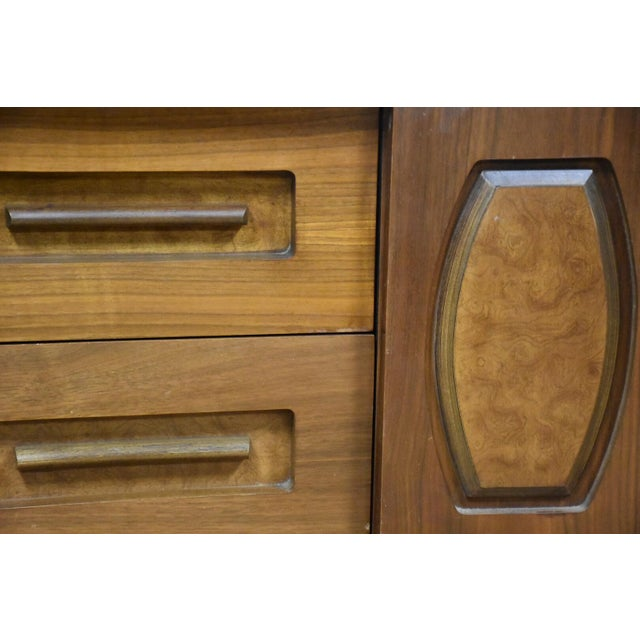Young Walnut Nightstands - Pair - Image 9 of 10