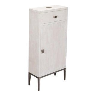 Fairmont Cabinet, Whitewash White For Sale