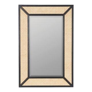 Mae Wall Mirror, Black For Sale
