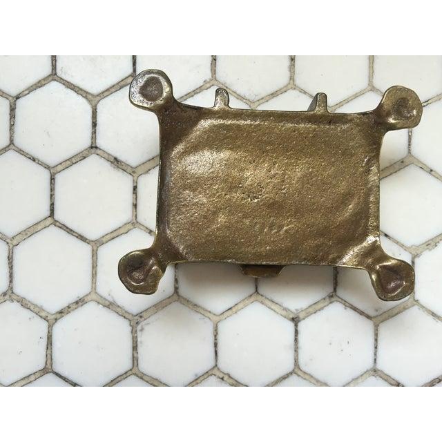 Mid-Century Brass Treasure Chest - Image 6 of 6