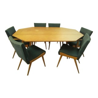 1950s Danish Modern Paul McCobb Dining Set - 7 Pieces For Sale