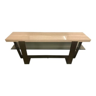 Transitional Griffith Park Console Table For Sale