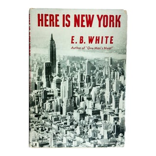 "1949 ""Here Is New York"" Collectible Book For Sale"