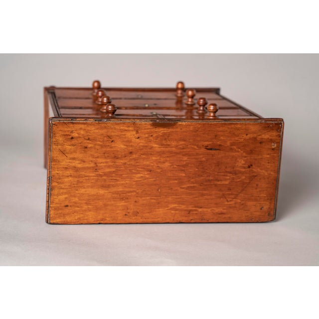 C 1820 English Model of Cherry Wood Chest of Drawers Apprentice Piece and Salesman Sample For Sale In Chicago - Image 6 of 8