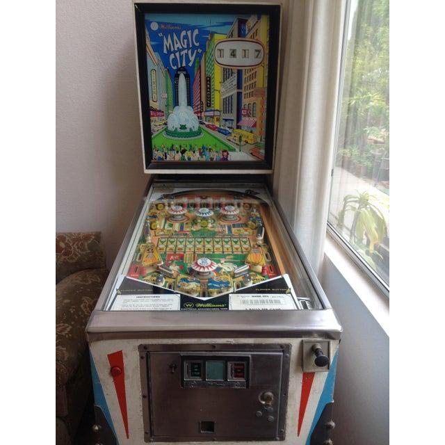 Mid-Century Williams Magic City Pinball Machine - Image 4 of 10