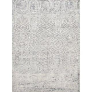 Schumacher Patterson Flynn Martin Vega Hand-Woven Wool Modern Rug - 9' X 12' For Sale