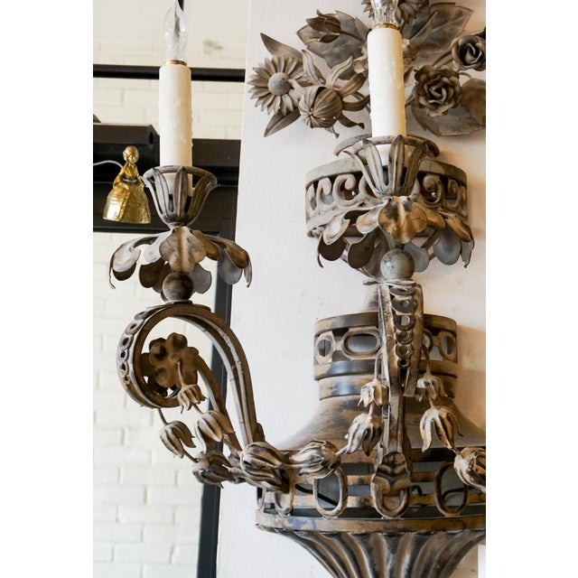 Pair of 19th Century French Sconces - A Pair For Sale - Image 4 of 8
