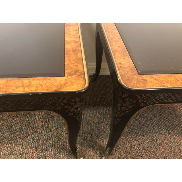 Black 1960s Drexel Heritage Et Cetera Collection Side Tables - a Pair For Sale - Image 8 of 12