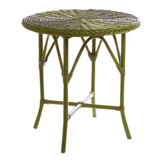 "Kenneth Ludwig Green Normandy 30"" Cafe Table For Sale"