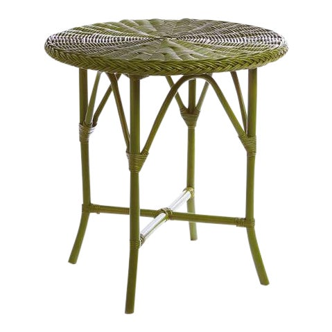 """Kenneth Ludwig Green Normandy 30"""" Cafe Table For Sale"""