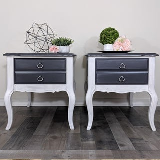 1970s French Cabriole Nightstands - a Pair Preview