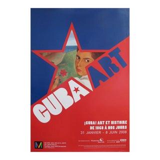 2008 Cuba Art Et Histoire Exhibition Poster