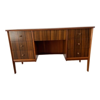 Mid Century Modern Peter Hayward Executive Desk For Sale