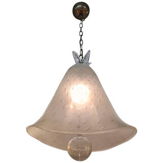"Barovier & Toso ""Sospensione 1939"" Pendant Light For Sale"