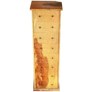 Indonesian Mango Wood Lingerie Cabinet with Eight Drawers from the 20th Century For Sale