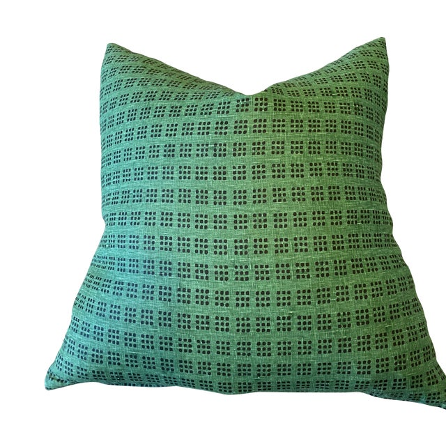 Lee Jofa Custom Fabric Knife-Edge Pillow For Sale
