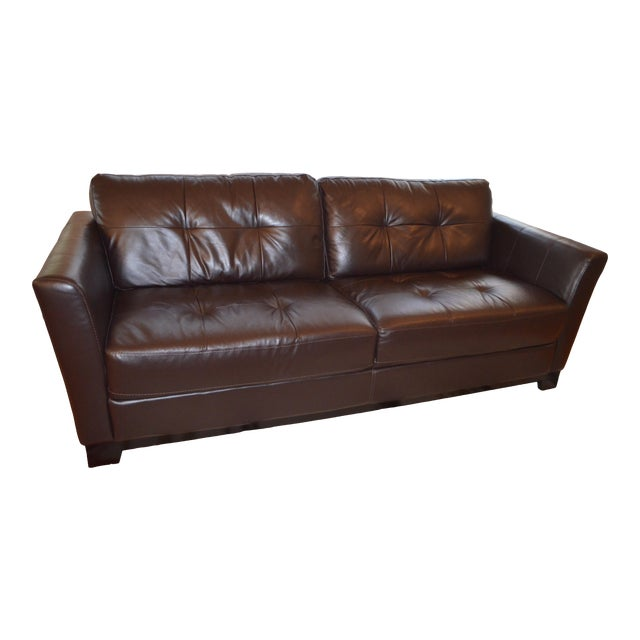 Pleasing Dark Brown Leather Couch Ncnpc Chair Design For Home Ncnpcorg