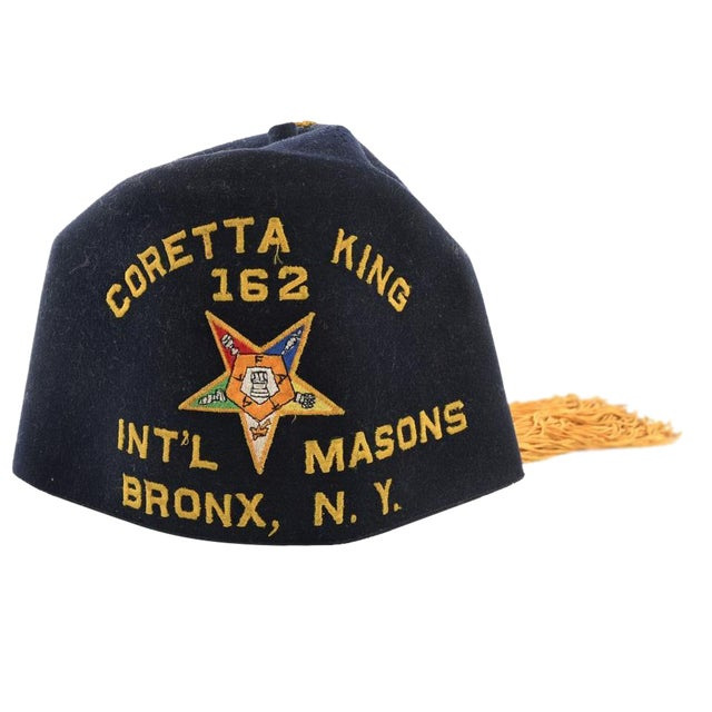 dc44f21b9 Original Coretta King Masonic Hat