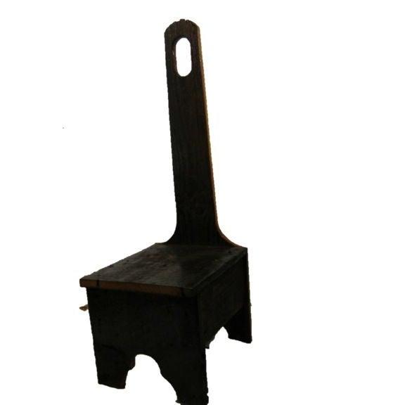 Custom Made Reclaimed Barnwood Step Stool - Image 1 of 3