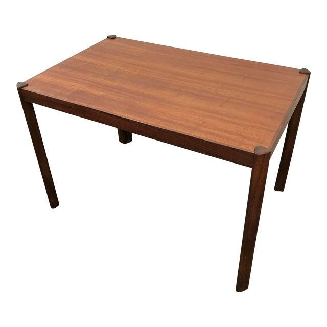 Hans Olsen Danish Modern Teak Side Table For Sale