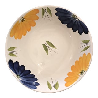 Maxam Italian Daisy Serving Bowl