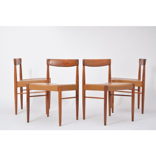 Rosewood Dining Chairs by h.w. Klein for Bramin, Set of Four For Sale - Image 10 of 12