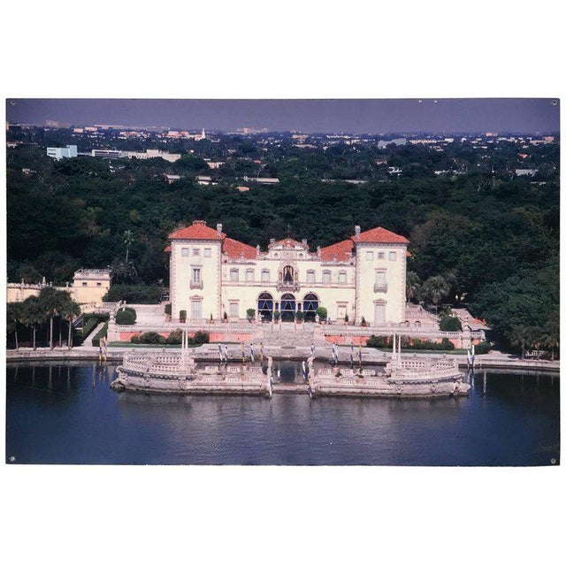 Monumental Photographic Print of Villa Vizcaya, Deaccessioned From Vizcaya For Sale - Image 13 of 13