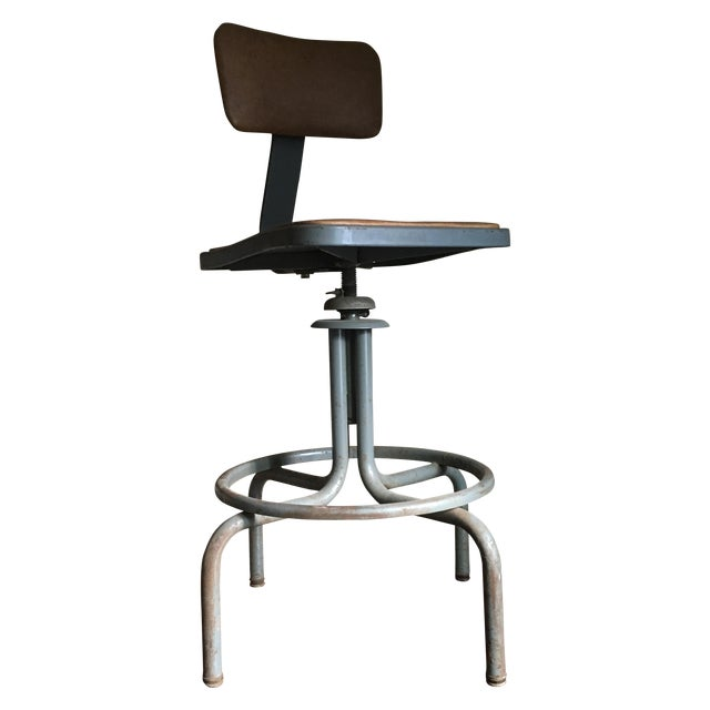 Vintage Royal Industrial Stool - Image 1 of 8