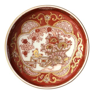 Gold Imari Dish For Sale