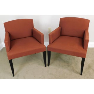 Modenature Classic Modern French Art Deco Style Pair Bergere Chairs (A) Preview