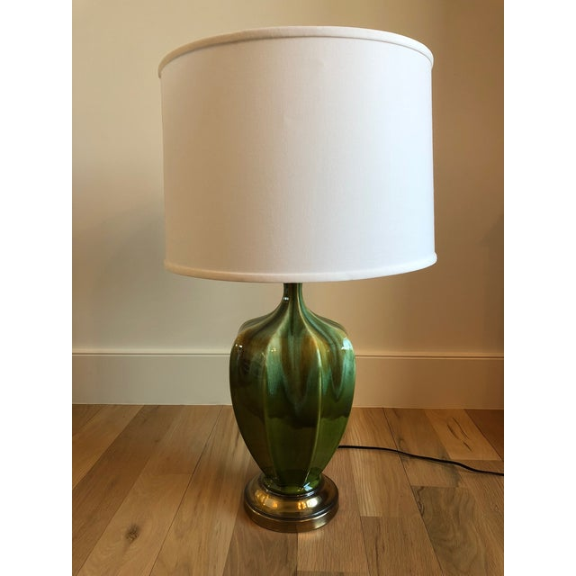 Royal Haeger Drip Glaze Table Lamp - Image 4 of 4