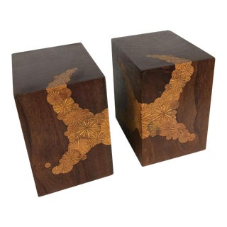 Roger Sloan Mid-Century Modern Studio Art Bookends - a Pair, Circa 1970's For Sale