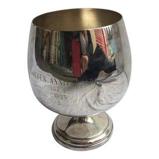 Vintage Silver Tournament Trophy Cup