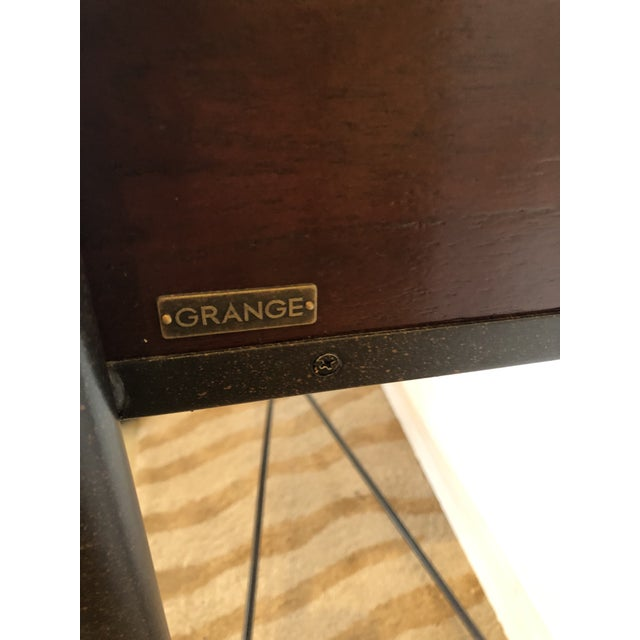 Mahogany Console Sofa Table by Grange For Sale In Philadelphia - Image 6 of 13