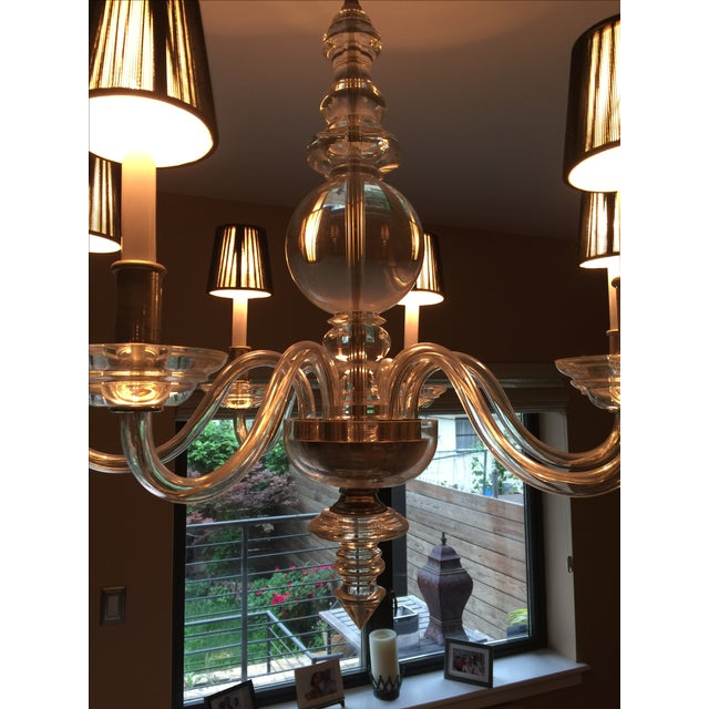 E.F. Chapman George II 6-Light Chandelier - Image 5 of 5