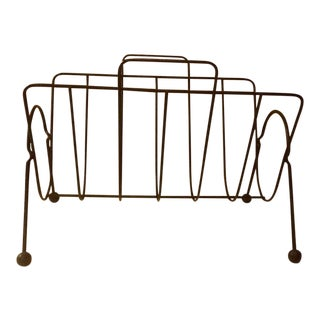 Tony Paul Style Magazine Rack/Record Rack For Sale
